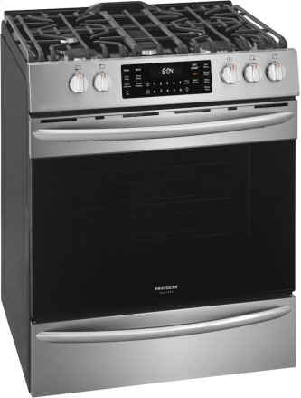 30'' Front Control Gas Range