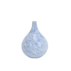 """Light Blue/white Vase 5"""""""