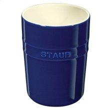 Staub Ceramics Utensil Holder, Dark Blue