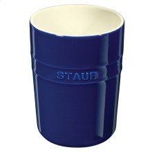Staub Ceramics Utensil Holder, Dark Blue