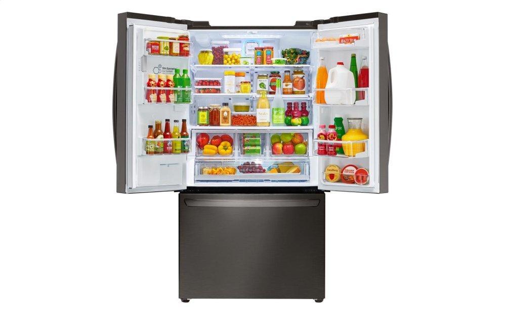 Lfxc24726d Lg Appliances 24 Cu Ft French Door Counter