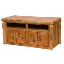 Widescreen Television Stand - Natural Cedar
