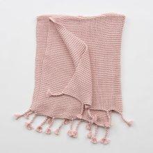 Comfy Knit Throw - Light Pink