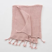 Comfy Knit Throw - Light Pink
