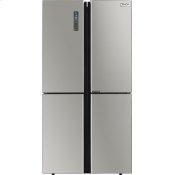 36 Inch Counter-depth 4 Door French Door Refrigerator With Ice Maker