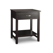 Brooklyn 1 Drawer Open Night Stand