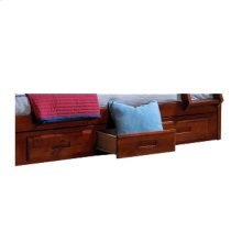 3-Drawer Pedestal Merlot