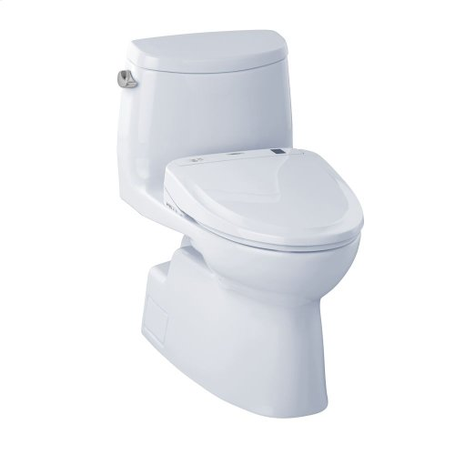 Carlyle® II WASHLET®+ S350e One-Piece Toilet - 1.28 GPF - Cotton