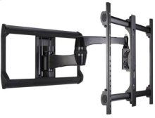 "Black Full-Motion Wall Mount for 37"" - 65"" flat-panel TVs - Extends 20"" / 50.8 cm"
