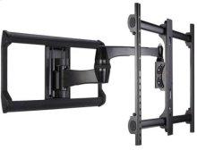 "Black Full-Motion Wall Mount for 37"" - 65"" flat-panel TVs - Extends 20"" / 50.8 cm"