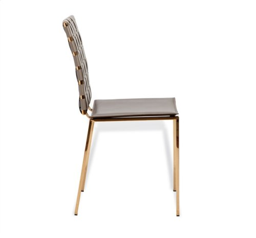 Bliss Woven Chair - Taupe