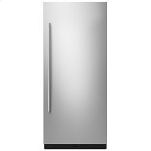 """36"""" Built-In Column Refrigerator with Euro-Style Panel Kit, Right Swing"""
