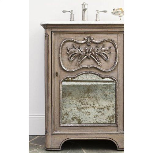 Laurel Petite Sink Chest - Grey