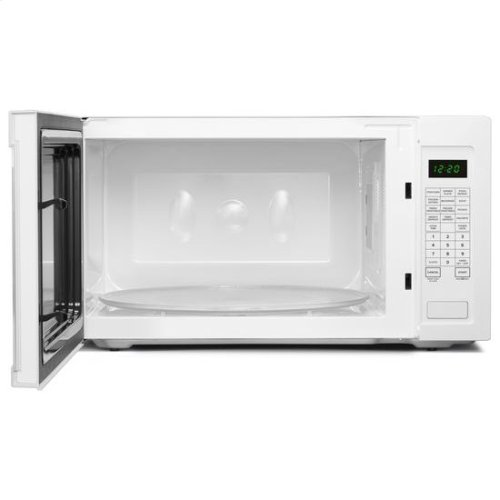 Amana® 2.2 Cu. Ft. Countertop Microwave with Add :30 Seconds Option - White