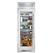30 Inch Stainless Glass Door Left Hinge Refrigerator Column