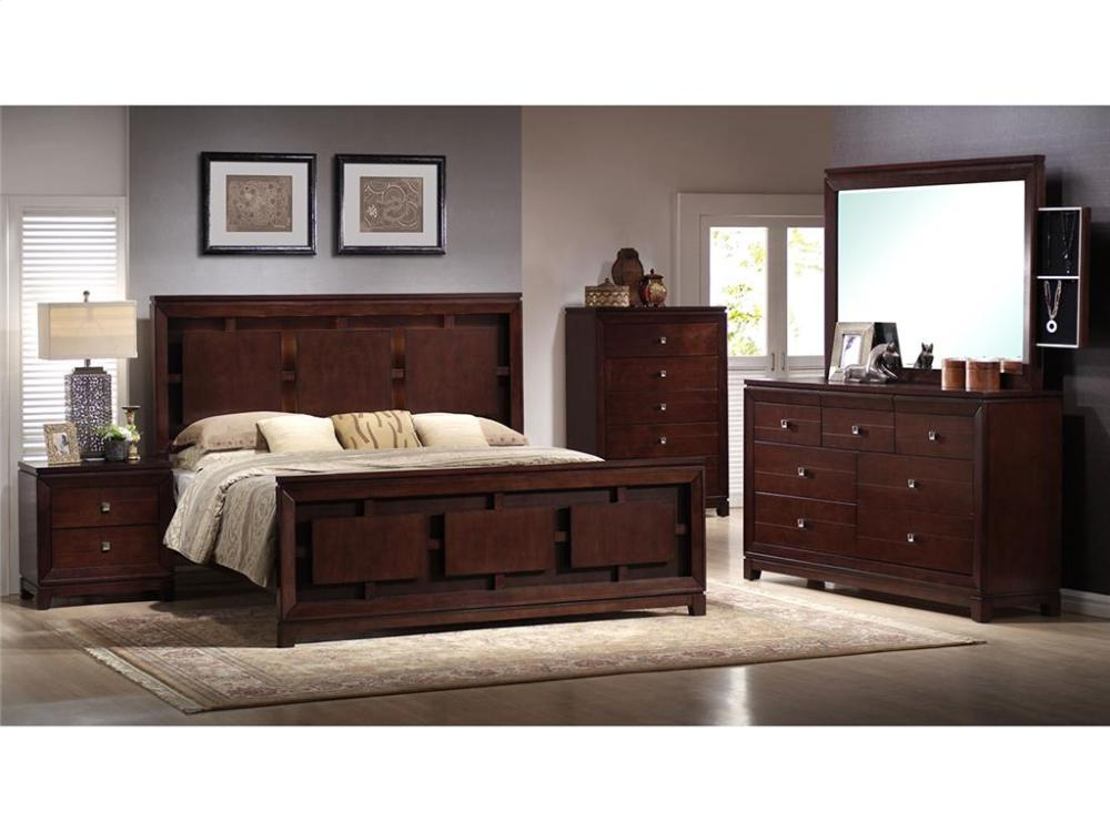 Elements Furniture LN600 London Bedroom Set Houston Texas USA Aztec  Furniture