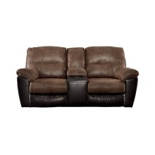 DBL Rec Loveseat w/Console (Follett)