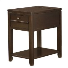 Downtown Chairside Table-Espresso