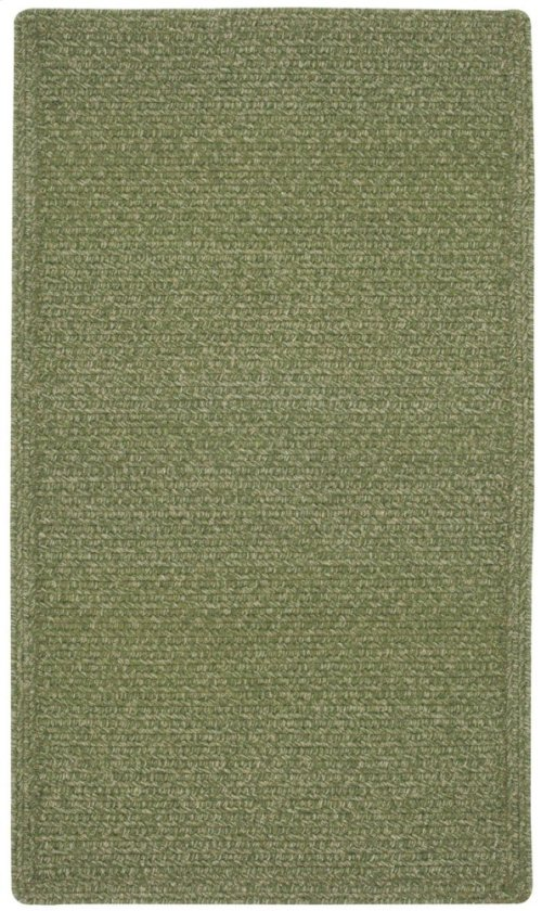 Heathered Sage Green Braided Rugs (Custom)