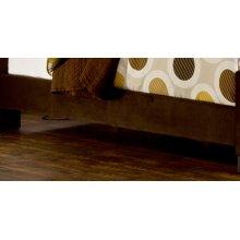 Fabric Universal Side Rail - King - Chocolate