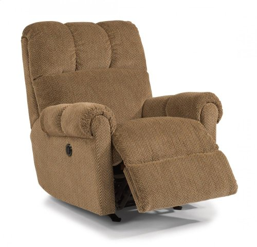 McGee Fabric Power Rocking Recliner