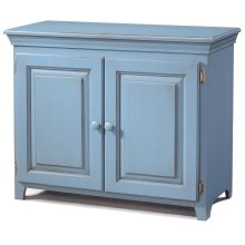 Solid Pine 2 Door Cabinet