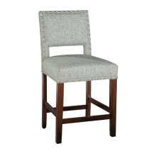 Locke Counter Stool with Nailheads