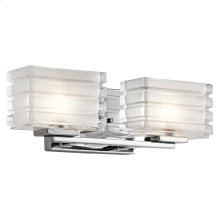 Bazely Collection Bazely 2 Light Halogen Wall Sconce CH CH