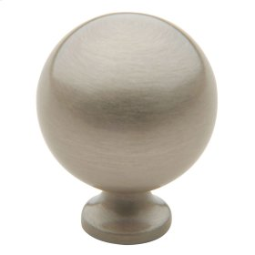Satin Nickel Spherical Knob