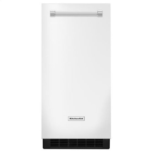 KitchenAid® 15'' Automatic Ice Maker - White