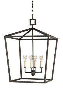 Denison Black Large Lantern
