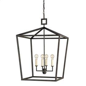 Denison Black Large Lantern