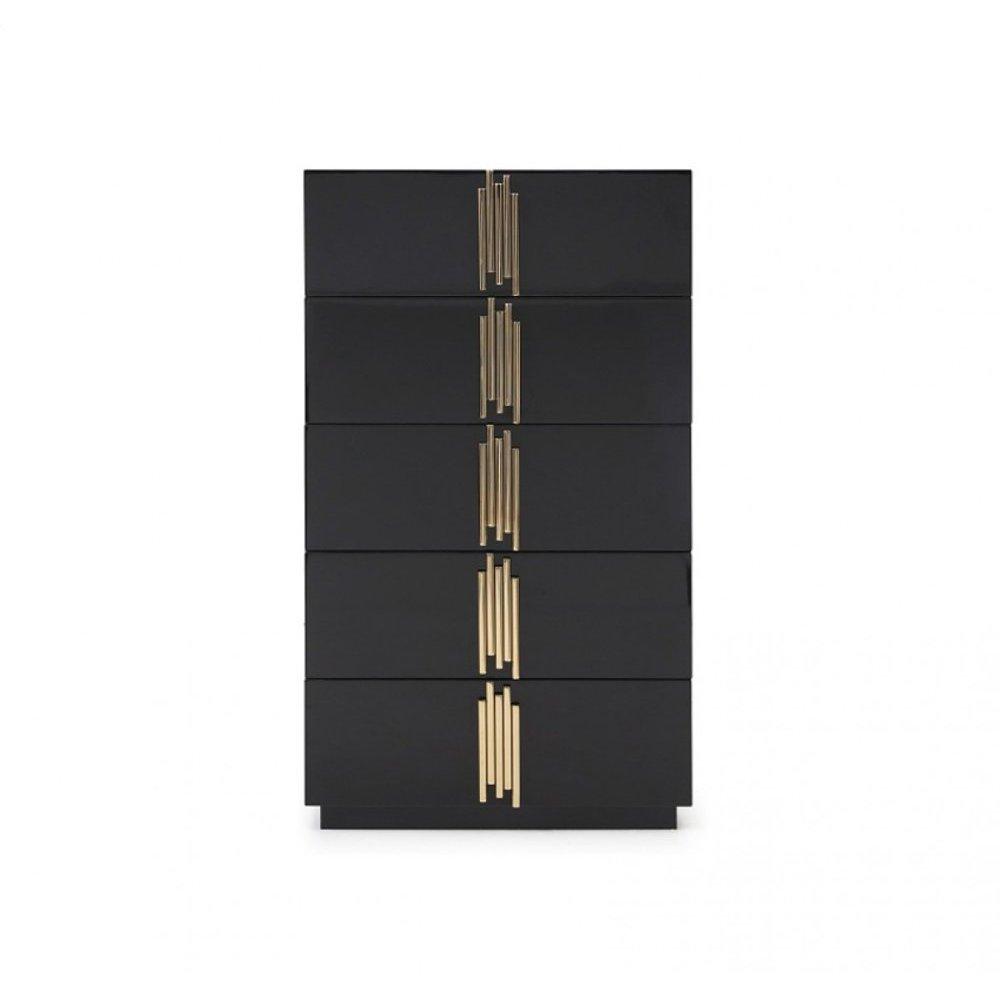 Modrest Token Modern Black & Gold Chest