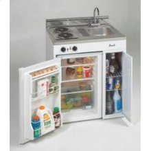 "Model CK30-1 - 30"" Complete Compact Kitchen with Refrigerator"