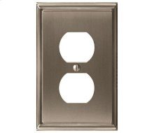 Mulholland 1 Receptacle Wall Plate
