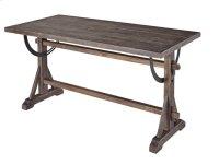 Dining Table/Desk - Chargrey Finish Product Image