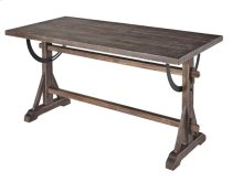 Dining Table/Desk - Chargrey Finish