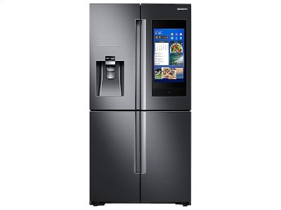 22 cu. ft. Counter Depth 4-Door Flex with 21.5 in. Connected Touch Screen Family Hub Refrigerator Product Image