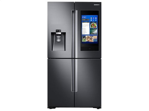 22 cu. ft. Counter Depth 4-Door Flex with 21.5 in. Connected Touch Screen Family Hub Refrigerator