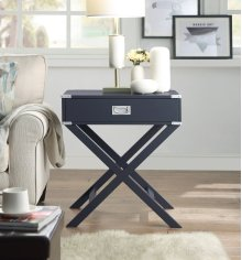 7082 Gray End Table