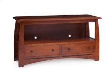 Aspen 2-Drawer Open TV Stand with Inlay, 60""