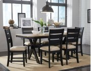 Leg Table and 6 Side Chairs Product Image