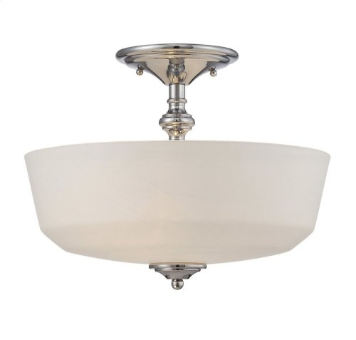 Melrose 2 Light Semi-Flush