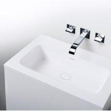 "series 600 blustone™ vanity top, 1/2"" thick, White gloss 23 3/4"" x 20 1/4"""