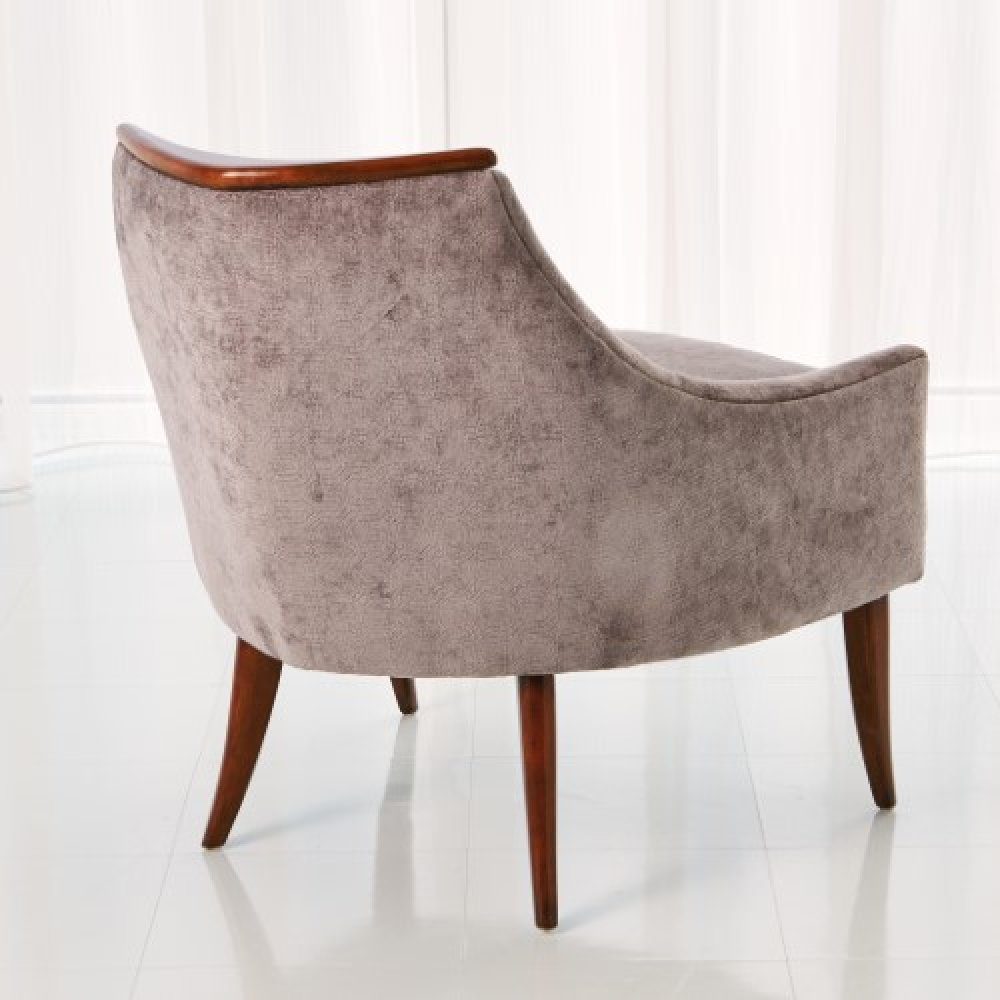 Boomerang Chair-Muslin
