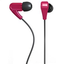 Polaroid PHP730-PK Noise Isolating Earbuds with Stereo Quality Sound, Pink