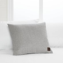Quilted Throw Pillow - Gray