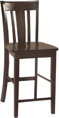 "24"" San Remo Stool Rich Mocha Product Image"