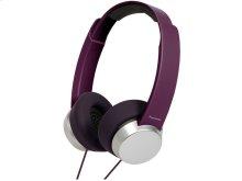 Street Style Monitor Headphones - Violet - RP-HXD3W-V