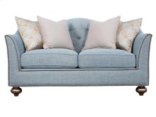 Aqua Loveseat